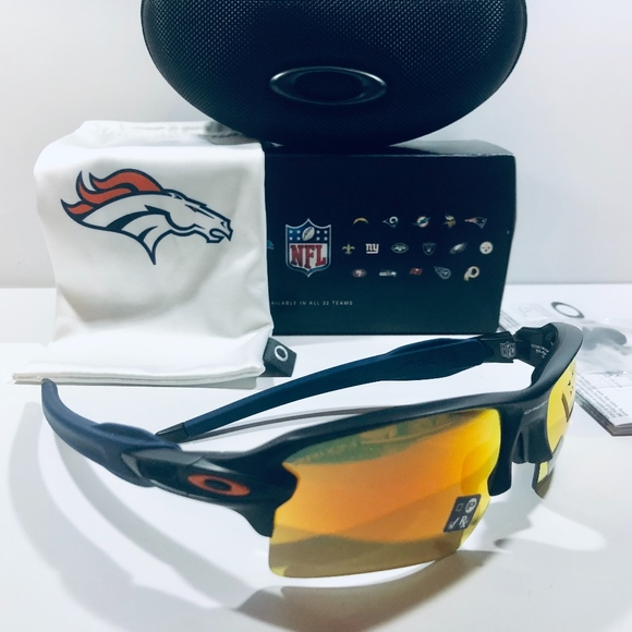 Oakley Other - Oakley Sunglasses NFL Denver Broncos Flak 2.0XL